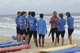 group surf lessons