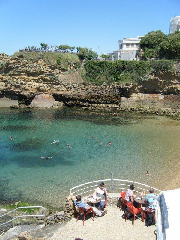 Biarritz: sea, food and sun...