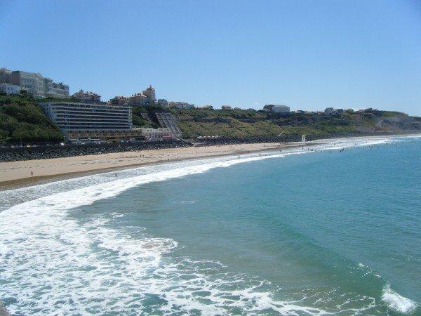 """cote des Basques"" beach: Biarritz"
